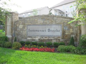 Somerset Brooke Entry Monument. Typo is on the sign not mine. :)